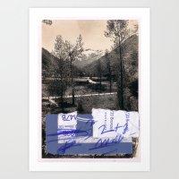 Memory And Perception 14 Art Print