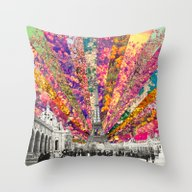 Vintage Paris Throw Pillow