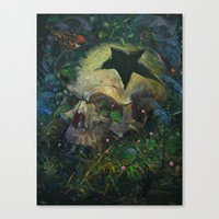 Cause Of Death Canvas Print