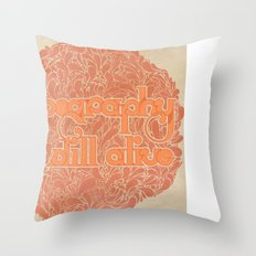Typo is still alive Throw Pillow