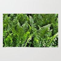 Fresh Ferns Rug