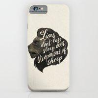 Lions Don't Lose Sleep O… iPhone 6 Slim Case