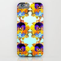 iPhone & iPod Case featuring Royal Pansy by Rachel Clore