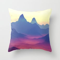 Mountains Of Another Wor… Throw Pillow
