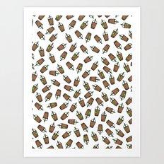 Bev Fresh Pattern Art Print