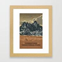 Tombstone Territorial Park Framed Art Print