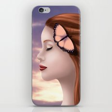 Whispers in the Wind iPhone & iPod Skin