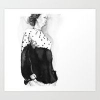 Fashion Illustration –… Art Print