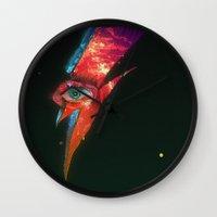 BLACK GLAM TEAR Wall Clock