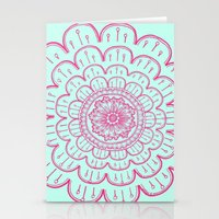 blue&pink Stationery Cards