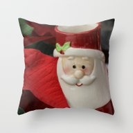 The Holidays Make Him Fe… Throw Pillow