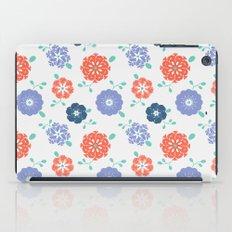Block Print Flowers iPad Case