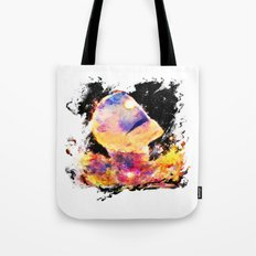 colorful giant Tote Bag