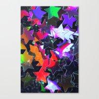 Starry Starry Night Neon… Canvas Print