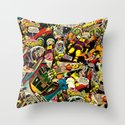 Unexpected - Part III [Final Chapter: Space Riot] Throw Pillow