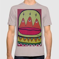 minor fuss Mens Fitted Tee Cinder SMALL