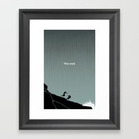 The End : LOST Framed Art Print