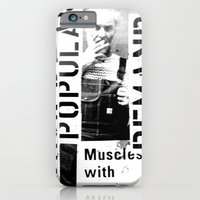 Muscles On Demand (B&W) iPhone 6 Slim Case