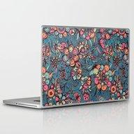 Sweet Spring Floral - Me… Laptop & iPad Skin