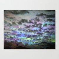 Colors Rolling In Canvas Print