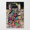 Spaceman Canvas Print