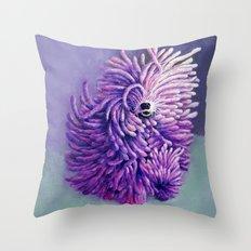 The Komondor Throw Pillow