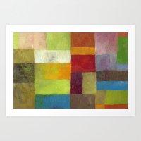 Abstract Color Study lV Art Print