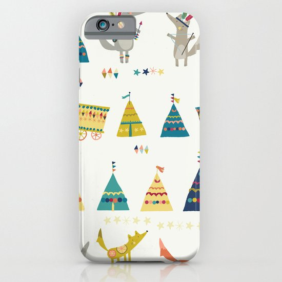 Wolf Pattern iPhone & iPod Case