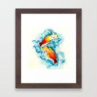 Fire Goby Framed Art Print