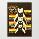 The Coolest Bear on Earth Canvas Print