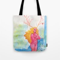 On the Nature of Spirits: Flora Tote Bag
