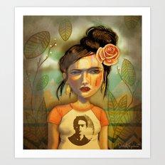 Frida Bomb Art Print