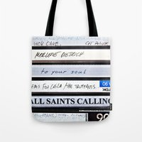 All Saints Calling  Tote Bag