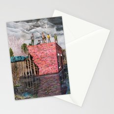 Water Wall Stationery Cards