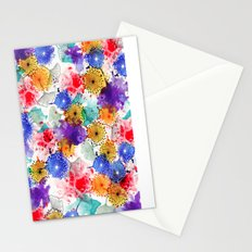 Printed Silk Exotic Garden Stationery Cards