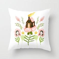 Treehouse Throw Pillow