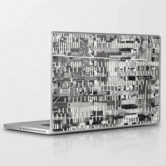 Exploiting Digital Behavior (P/D3 Glitch Collage Studies) Laptop & iPad Skin