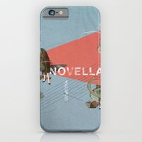 iPhone Cases featuring Novella- Mixed media by Matthew Billington