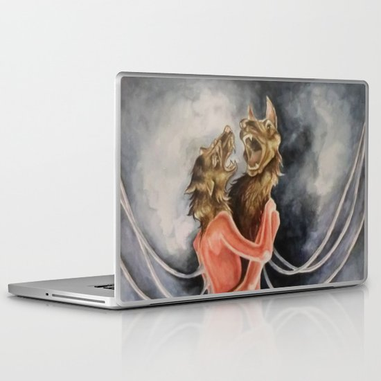 Snarled into Each Other Laptop & iPad Skin