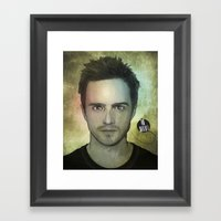 Jesse Pinkman, Yo Bitch! Framed Art Print