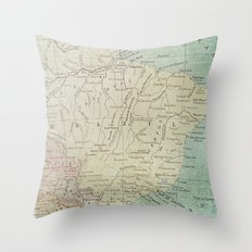 B R A Z I L Throw Pillow