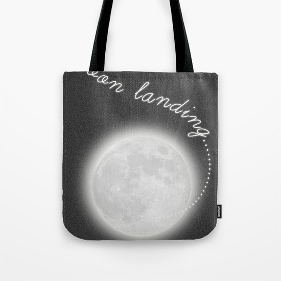 Moon Landing! Tote Bag