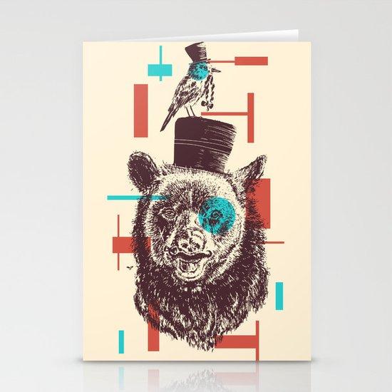 Beards Stationery Card