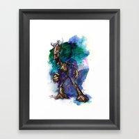 I AM G Framed Art Print