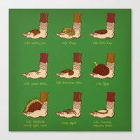 Shire Styles Canvas Print