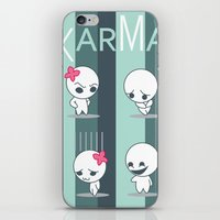 Instant Karma iPhone & iPod Skin