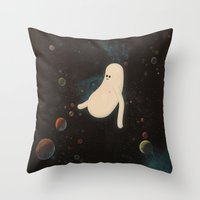 L O S T I N S P A C E Throw Pillow