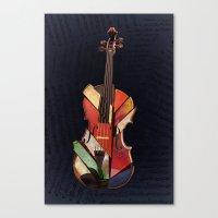 Piece By Piece Canvas Print