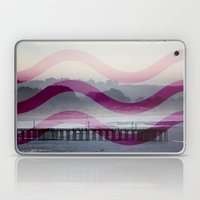Waves and Pier Laptop & iPad Skin