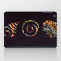 Deep Sea Shell Trio iPad Case